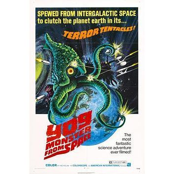 Yog The Monster From Space Movie poster Metal Sign Wall Art 8in x 12in