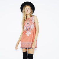 Gone Wild Faux Suede Dress by MINKPINK