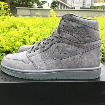 KAWS x Air Jordan 1¡°Cool Grey Men Basketball Sneaker size 40-46