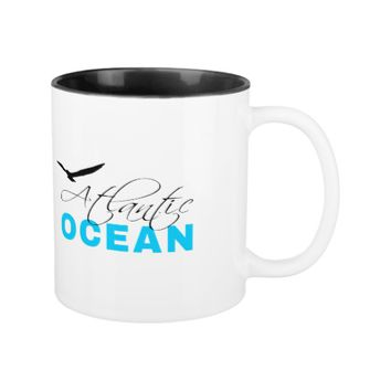 Atlantic Ocean Two-Tone Coffee Mug