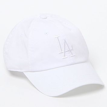 American Needle LA Dodgers Cap - Womens Hat - White - One