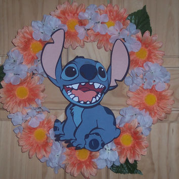 Stitch Spring Floral wreath / Great Summer Gift