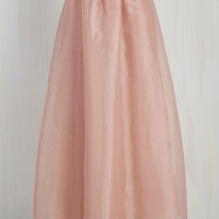 50s Long Maxi In Top Formal Skirt