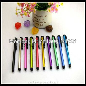 100pcs/lot Universal Touch Screen Stylus Pens for iPad iPhone Samsung Tablet , All Mobile Phones , Tablet PC