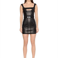LUISAVIAROMA.COM - DSQUARED2 - CUTOUT LAMBSKIN DRESS