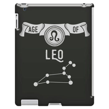 Age Of Leo iPad 3/4 Case