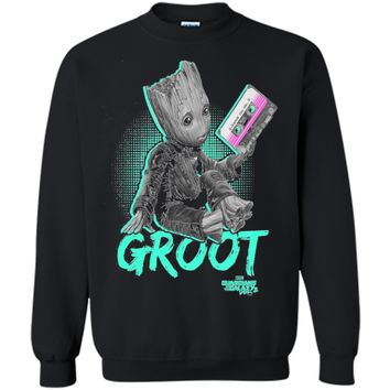 Marvel Guardians Vol. 2 Baby Groot Neon Tape Graphic T-Shirt t-shirt