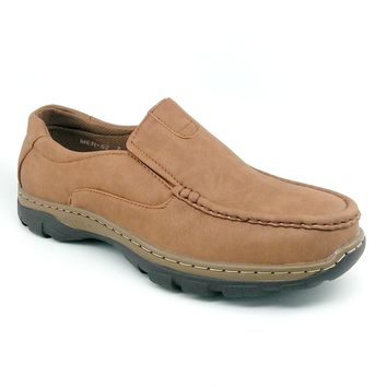 Men's Brown Casual Slip On Shoes