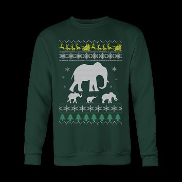 ELEPHANT- Ugly Christmas Sweatshirt