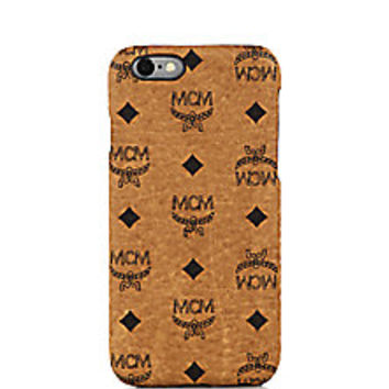 MCM - Claus Coated Canvas iPhone 6 Case - Saks Fifth Avenue Mobile