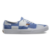 Vans California Authentic CA Women Glitch Check Blue/White