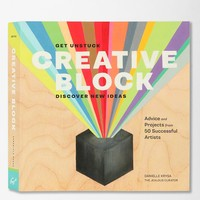 Creative Block: Get Unstuck, Discover New Ideas. By Danielle Krysa - Urban Outfitters