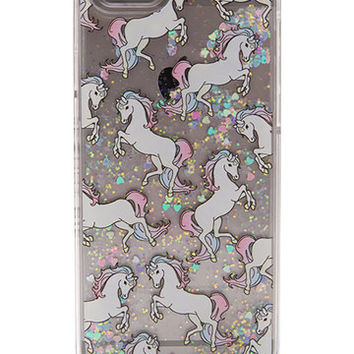 iPhone 6 Glitter Unicorn Case