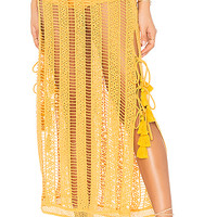 Jen's Pirate Booty Duomo Maxi Skirt in Oro Lace