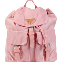 Nylon Sports Girl Mini Backpack - Pink