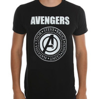 Marvel Avengers: Age Of Ultron Names T-Shirt