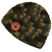 3-6 months baby hat Camo baby beanie camo boy hat baby photo prop Ready To Ship