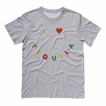 I Heart Tequila Cinco De Mayo Shirt