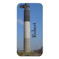 Oak Island Lighthouse, NC Personalized Cover For iPhone SE/5/5s