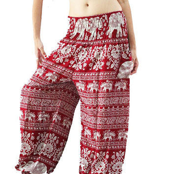 Casual Pants Harem Pants Women Gypsy Hippy Boho Yoga Pants