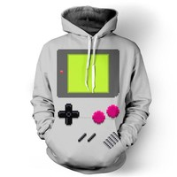 Gameboy Hoodie Women Men 3d Sweatshirts Hoodies with pocket hoody Casual Autumn Fall Winter Style Jumper Outfits Tops