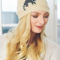 Raccoon Cashmere Hat