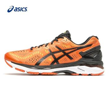 Original ASICS Men Shoes GEL-KAYANO 23 Breathable Cushioning Running Shoes Sports Shoes Hard-wearing Sneakers classic Leisure