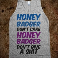 Honey Badger  - Jordan Designs