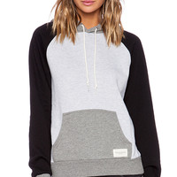 Obey Ellis Pullover in Gray