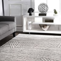nuLOOM Vintage Striped Louisa Area Rug