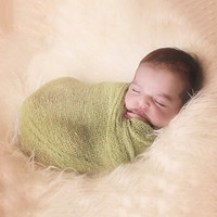 40*150cm Stretch Knit Wrap Newborn Photography Props Baby Kids Nubble Rayon Wraps Maternity Scarf Hammock Women Shawl