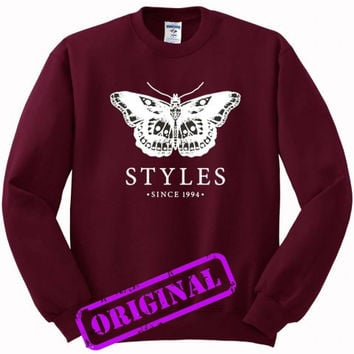 Harry Styles 94 for Sweater maroon, Sweatshirt maroon unisex adult