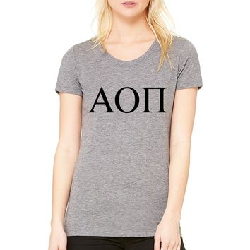 Alpha Omicron Pi Sorority T-shirt