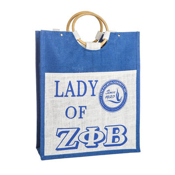 Lady of Zeta Phi Beta Bag