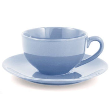 Winsdor Ceramic Tea Cups Set of 3 Blue