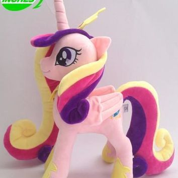 Free shipping Movies & TV 32cm Princess Cadance horse toy about 12 inch toy for birthday gift