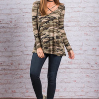 The Real You Top, Army Green