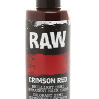 RAW Crimson Red Demi-Permanent Hair Color