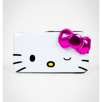 Hello Kitty Pink Bow Hinged Wallet