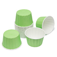 Paper 4-Ounce Candy Cups - Light Green: 25-Piece Pack