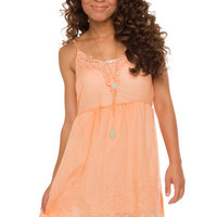 This Summer Dress - Peach