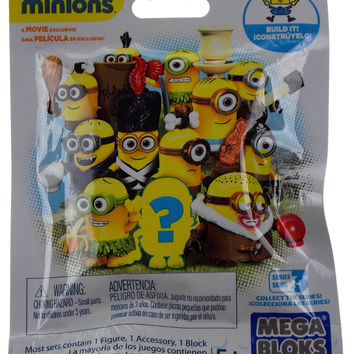 Lot of 11 Minions Mega Bloks Series 3 Blind Mystery Pack Toy Factory Sealed Fun