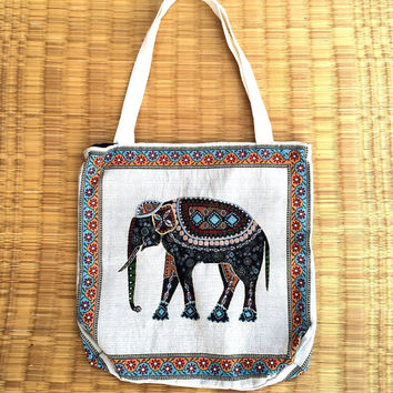 Tote bag/bags/Tote bag/handbag/Market Bag/large bag/ beach bag/Elephant bags/ sling bag/book bag/ handbag/Bags & Purses/