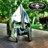 'Spartan Mask' Stainless Steel Ring (614)