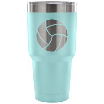 Volleyball 30 Ounce Vacuum Tumbler- 7 Colors to Choose From