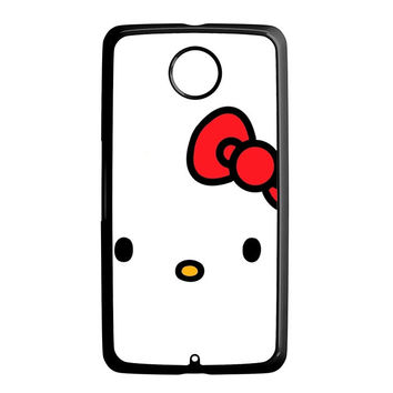 Cartoon Hello Kitty Nexus 6 Case