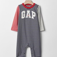 Gap Colorblock Logo Stripe One Piece