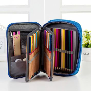 Multifunction School Pencils Case Large Capacity Pencil Pens Bag Holder Case Box Gift For Students Stationery Artist Supplies