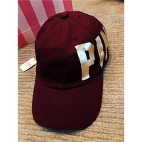 Victoria's Secret PINK Baseball Hat - Burgundy