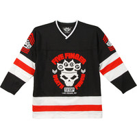 Five Finger Death Punch Men's  Hockey Jersey Black